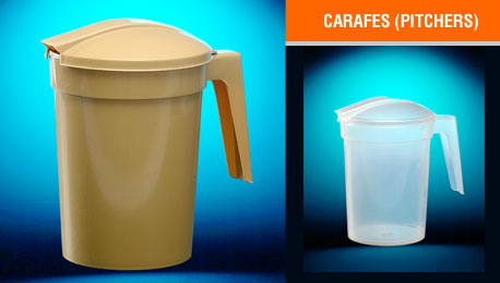 carafes (pitchers)